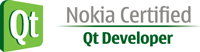 Logo Nokia certified Qt Developer